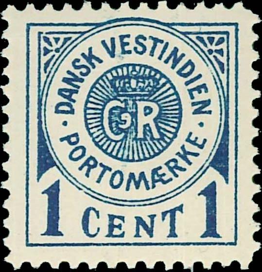 Danish_West_Indies_Postage_Due_1cent_Genuine