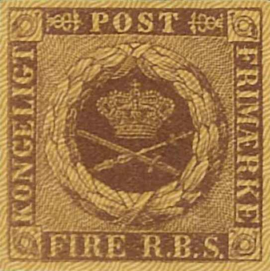 Denmark_1851_4rbs_Reprint