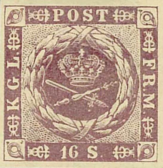 Denmark_1857_16sk_1886_Reprint