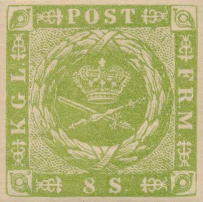 Denmark_1857_8sk_Reprint