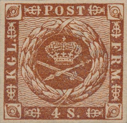 Denmark_1858_4sk_Genuine