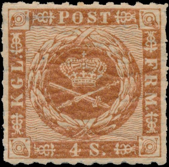 Denmark_1863_4sk_Genuine