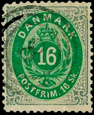 Denmark_1870_16sk_Reperforated1