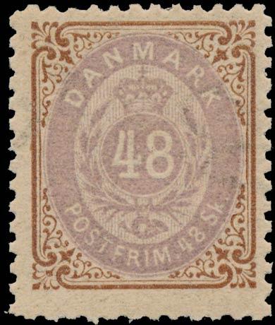 Denmark_1870_48sk_Genuine