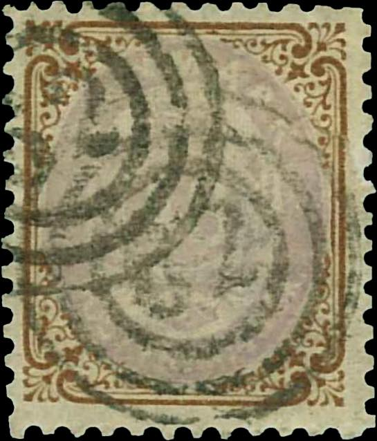 Denmark_1870_48sk_Reperforated8