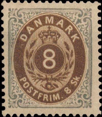 Denmark_1870_8sk_Genuine1