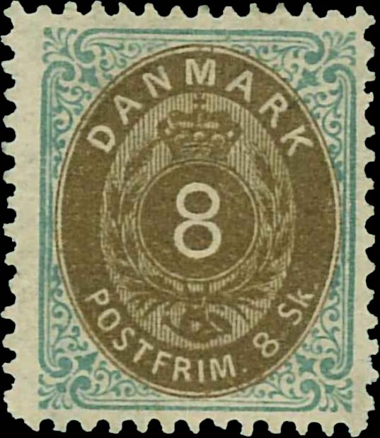 Denmark_1870_8sk_Reperforated2