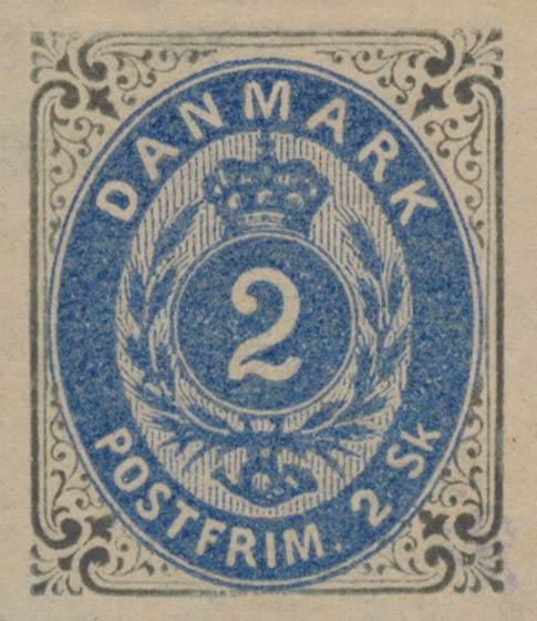 Denmark_1870_Bicolored_2s_Unperforated_Genuine