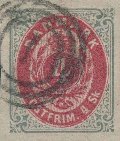 Denmark_1870_Bicolored_4sk_Unperforated