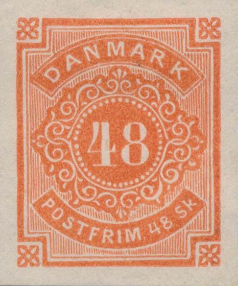 Denmark_1870_48skilling_Essay2_Genuine