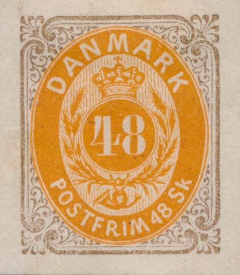 Denmark_1870_48skilling_Essay3_Genuine