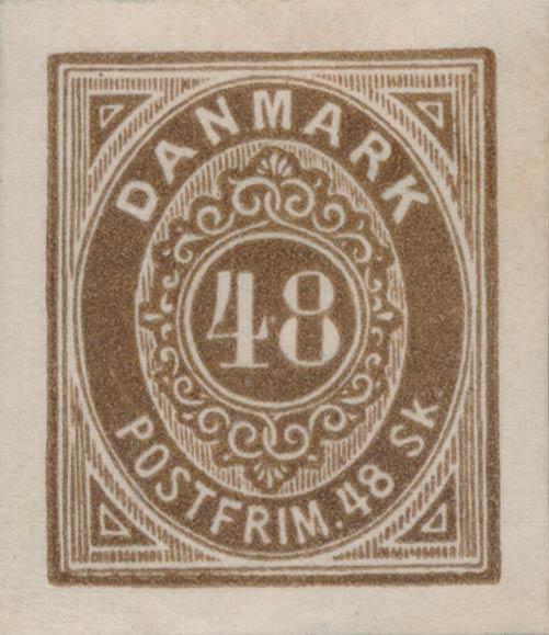 Denmark_1871_48skilling_Essay7_Genuine