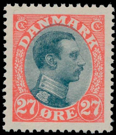 Denmark_1918_King_Chr_X_27ore_Variety1