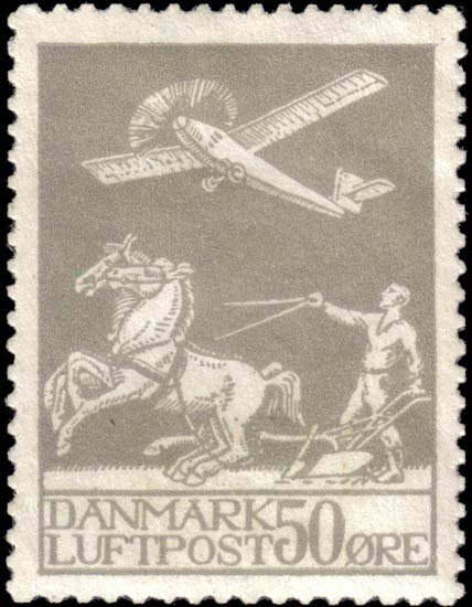 Denmark_1925_Airmail_50ore_Forgery1