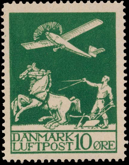 Denmark_Airmail_10ore_Forgery1