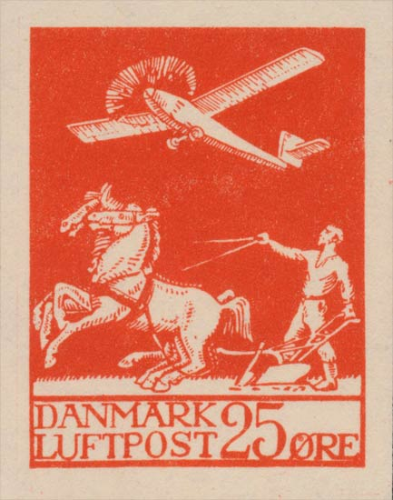 Denmark_Airmail_25ore_Forgery-essay