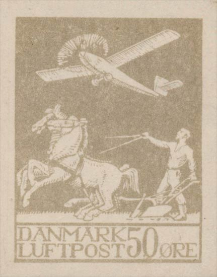 Denmark_Airmail_50ore_Forgery-essay