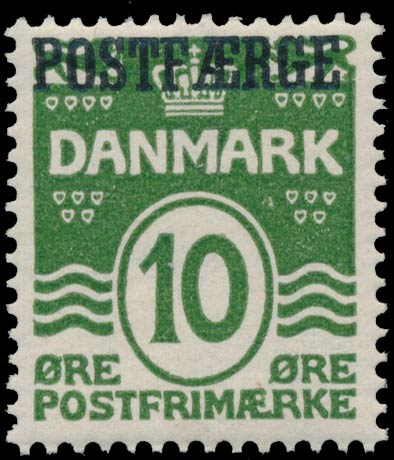 Denmark_PostFerry_1922_10ore_Genuine