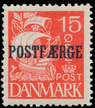 Denmark_PostFerry_1927_15ore_Genuine