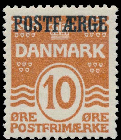 Denmark_PostFerry_1930_10ore_Genuine