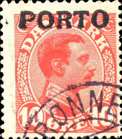 Denmark_PostageDue_1921_10ore_Forgery1