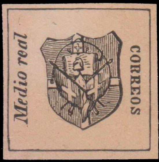 Dominican_Republic_1865_Coat-of-Arms_Medio_Real_Forgery