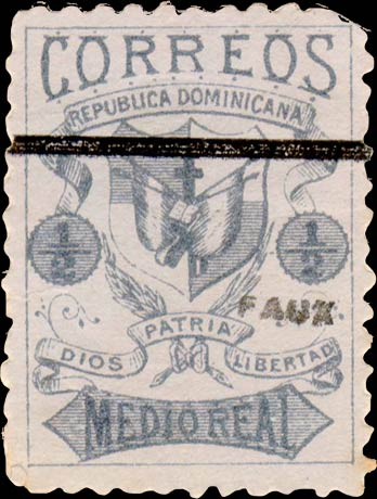 Dominican_Republic_1879_Medio-blue-2_Fournier_Forgery