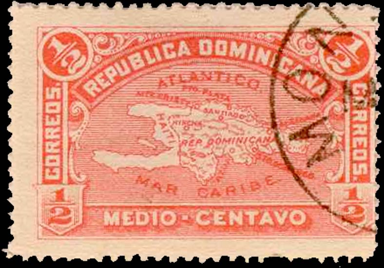 Dominican_Republic_1900_1-2c_Genuine