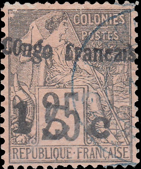 French_Congo_25c_Forgery2