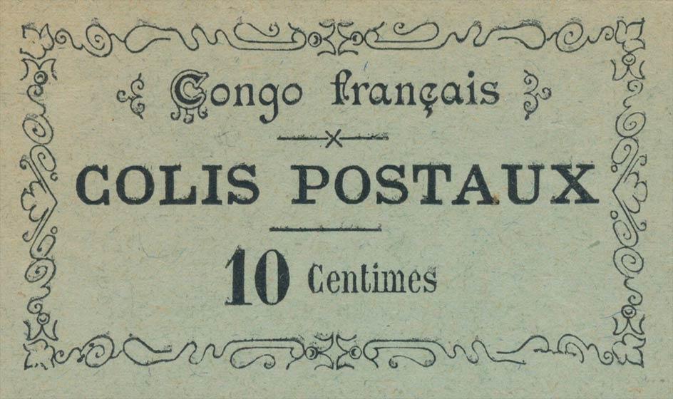 French_Congo_Colis_Postaux_Genuine