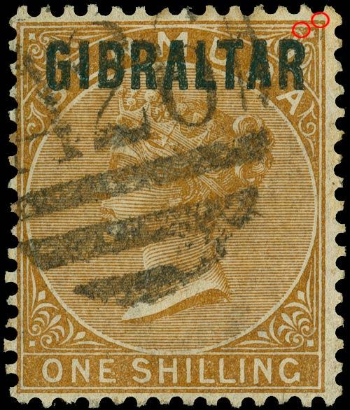 Gibraltar_1886_1s_Sperati_Forgery
