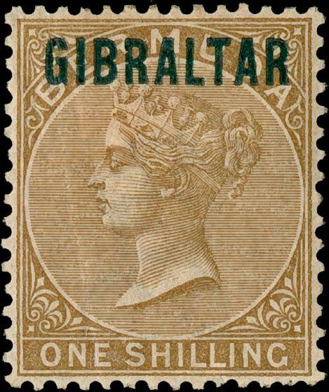 Gibraltar_1886_QV_1s_Genuine