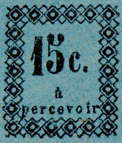 Guadeloupe_Postage_Due_15centimes_Fournier_Forgery