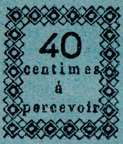Guadeloupe_Postage_Due_40centimes_Fournier_Forgery-2
