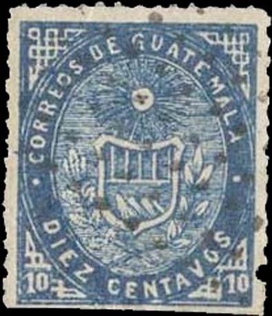 Guatemala_1871_10c_Forgery