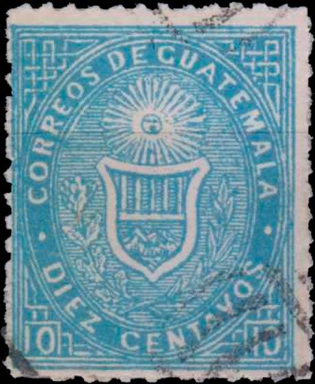 Guatemala_1871_10c_Spiro_Forgery