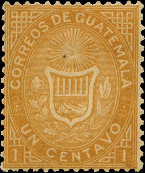 Guatemala_1871_Coat_of_Arms_1c_Genuine