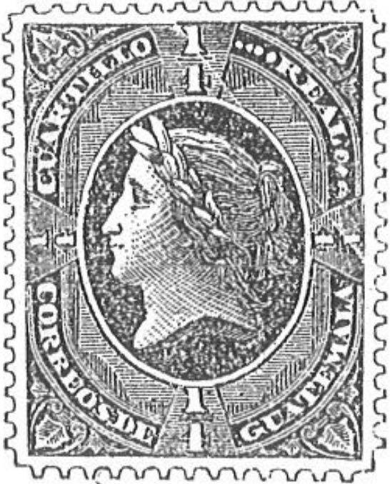 Guatemala_1875_Liberty_1-4_Real_Torres_illustration