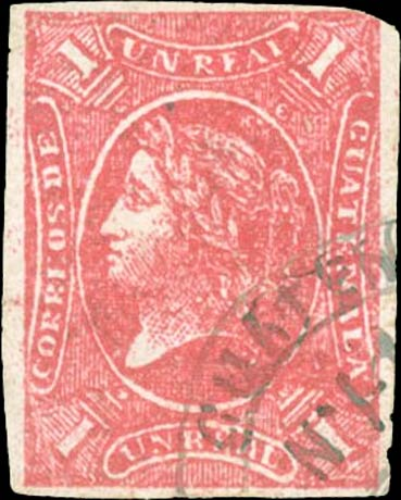 Guatemala_1875_Liberty_1r_red_Forgery