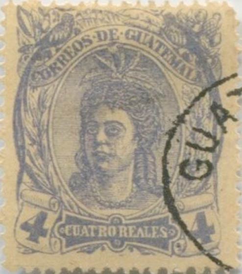 Guatemala_1878_Native_Indian_4r_Forgery