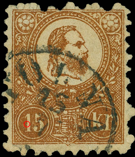 Hungary_1871_15kr_Sperati_Forgery