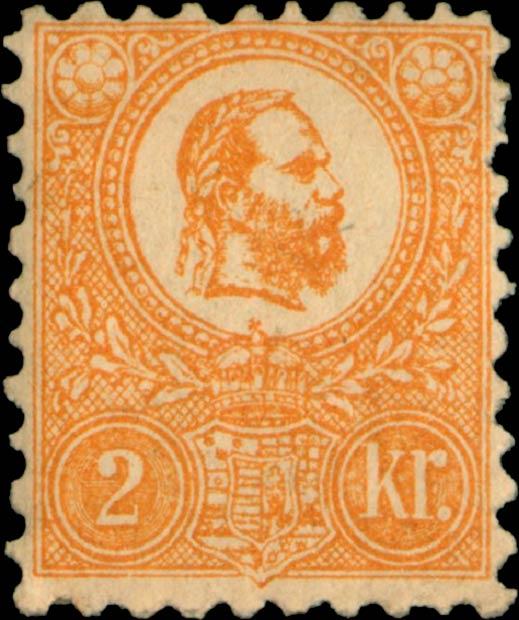 Hungary_1871_2kr_Genuine