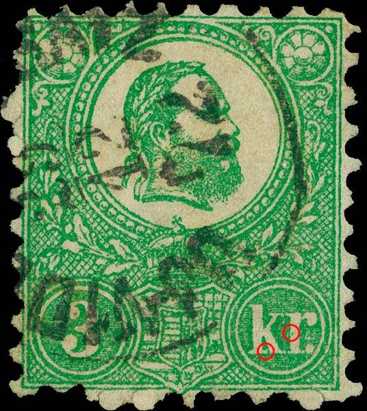 Hungary_1871_3kr_Sperati_Forgery