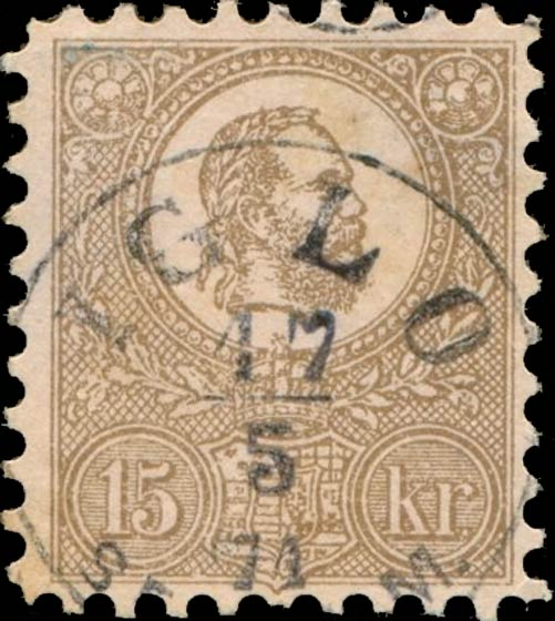 Hungary_1871_Joseph_15kr_Forgery