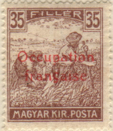 Hungary_French_Occupation_35f_Szekula_Forgery
