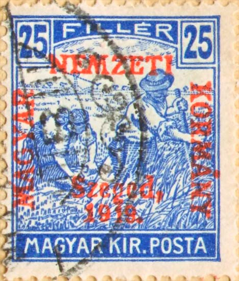 Hungary_French_Occupation_Szeged_25f_Forgery
