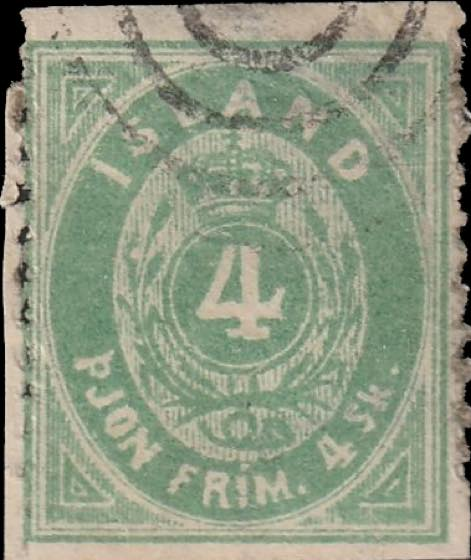 Iceland_1873_Official_4sk_Forgery