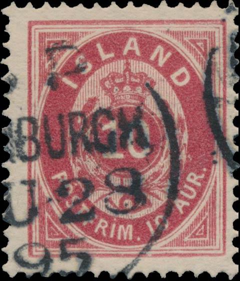 Iceland_1876_10aur_Genuine