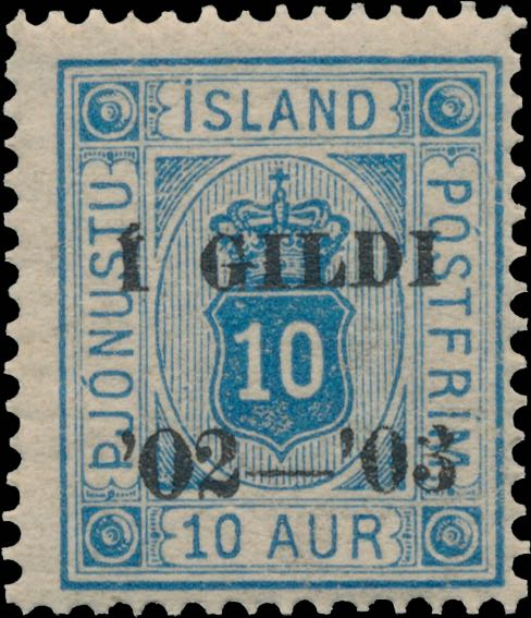 Iceland_1902_Official_10aur_Gildi_Genuine