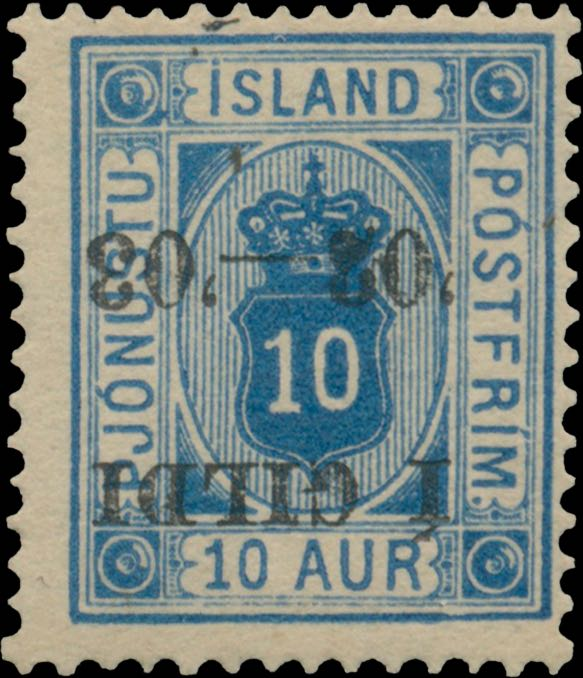 Iceland_1902_Official_10aur_Gildi_Inverted_Genuine